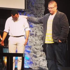 Myself and Pastor Brian